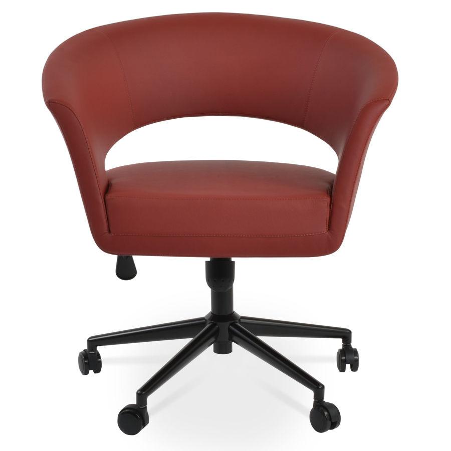 ada lounge office black color finish ppm d red 2214 12 1jpg