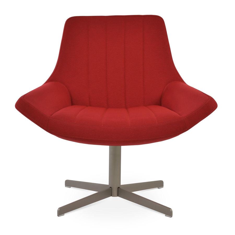 bellagio 4 star lounge chair camira era fabric red cse06 small lounge 4 star swivel base matt brushed nickel 244 62cm 4 tilt base h104265cm 1jpg