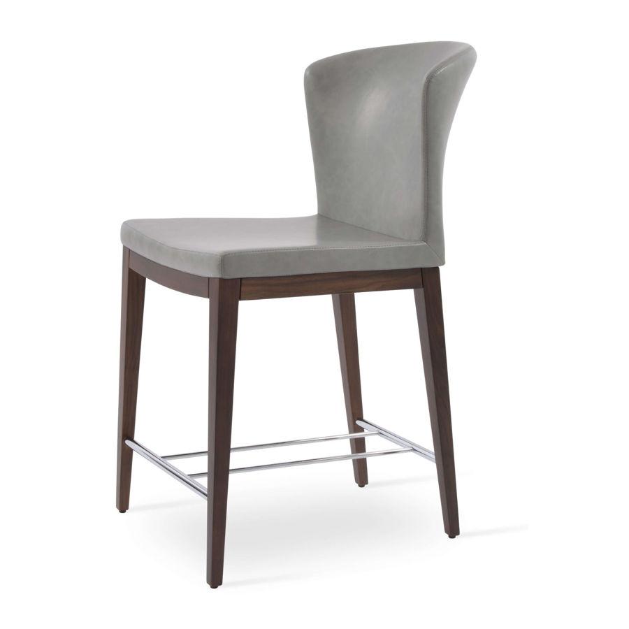 capri wood stool light grey ppmfm8005 american walnutjpg