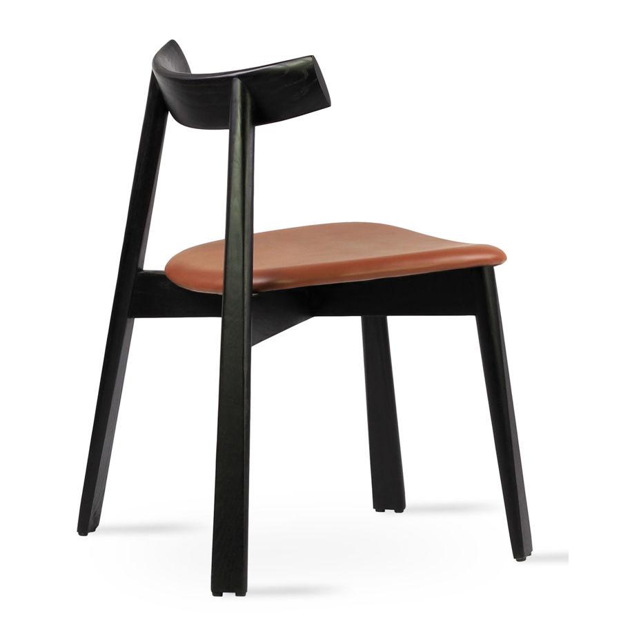 florence chair solid ash black finish ppm s hazelnut 502 33 seat 1jpg