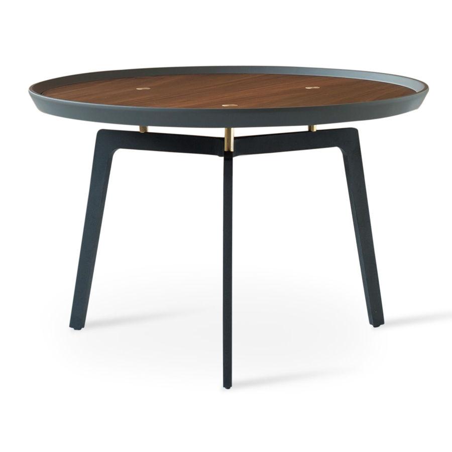 galaxy c coffee table walnut gray top black metal legs 3jpg