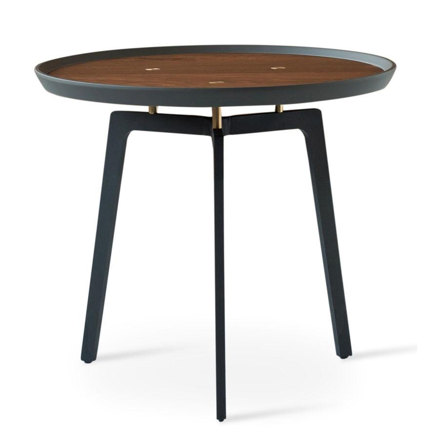 galaxy c coffee table walnut gray top black metal legs1jpg
