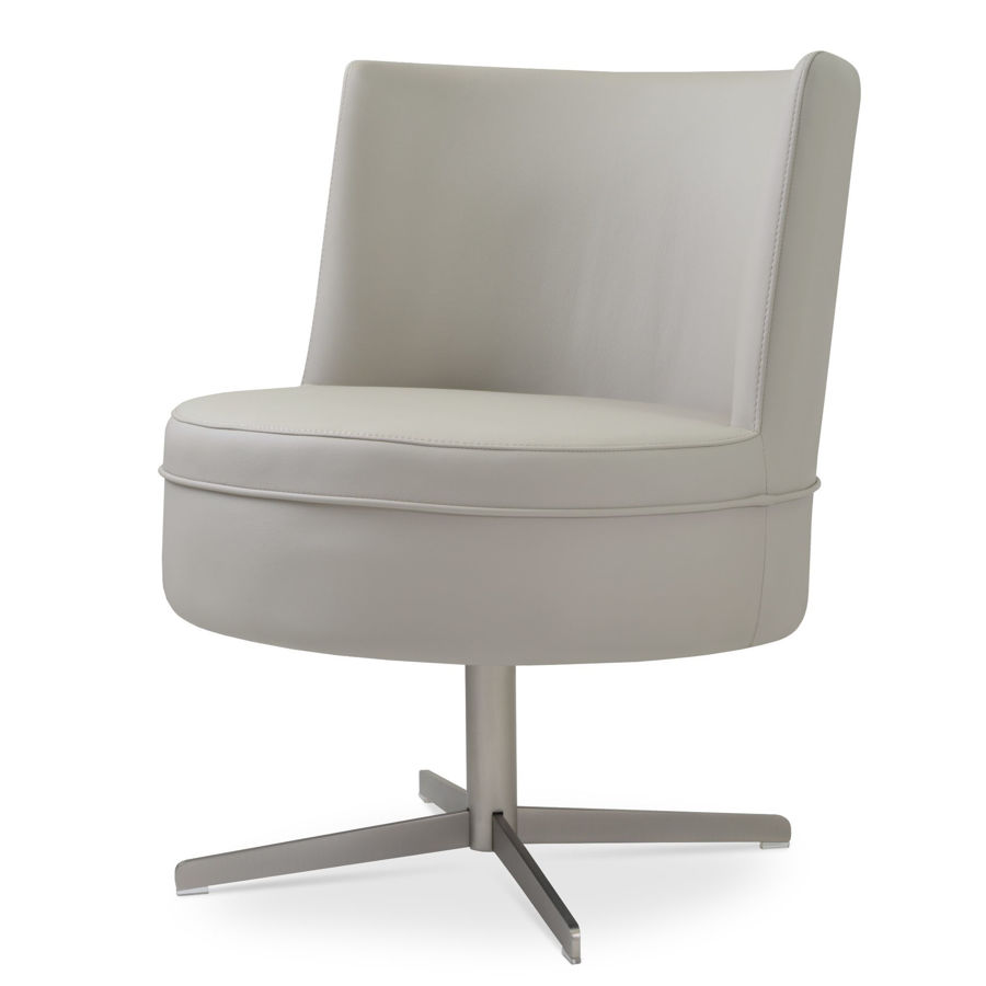 Picture of Hilton Lounge Swivel Chair 4 Star Base
