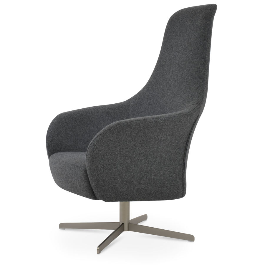 pierre loti 4 star lounge arm chair camira blazer wool dark grey silcoates cuz30 1jpg