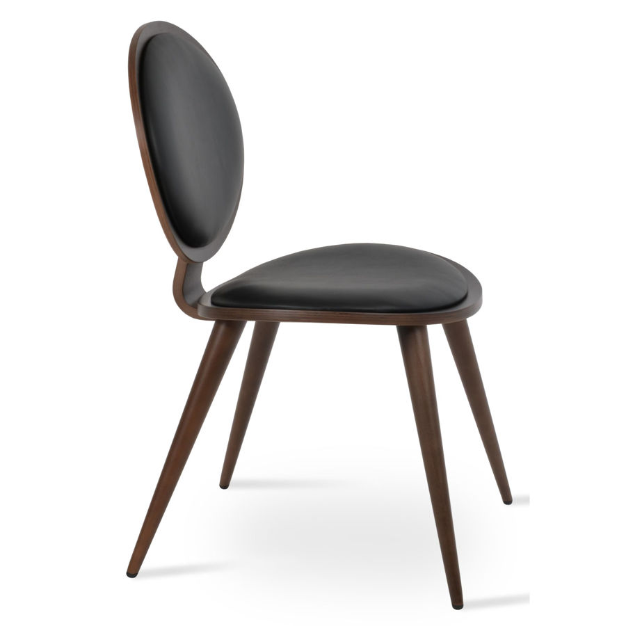 tokyo chair legs beech wood seatback plywood american walnut veneer h87cm sh46cm d59cm w54cm 74kg com 05mt 1jpg
