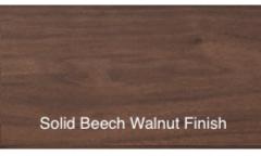 SOLID ASH WOOD WALNUT FINISH