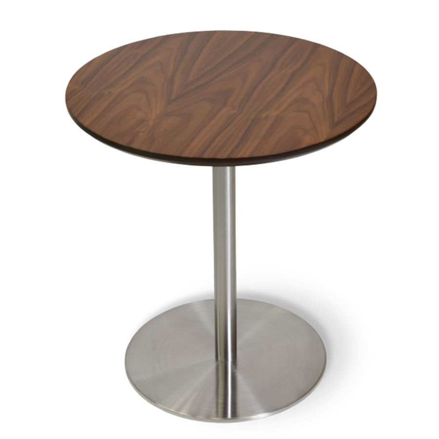 Picture of Ares End Table Walnut S.Steel