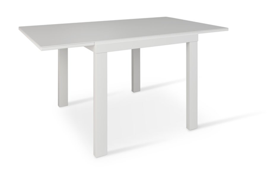 Picture of Niagara Glass Extendable Dining Table - White