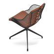 Picture of Zebra Arm Spider Swivel Chair Black